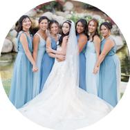Blue Bridesmaid Dresses for Sale