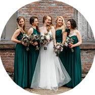 Green Bridesmaid Dresses for Sale