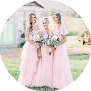 Pink Bridesmaid Dresses for Sale