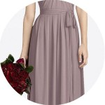 Dusty Rose Bridesmaid Dresses for Sale