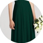 Ever Green Bridesmaid Dresses for Sale