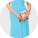Sky Blue Bridesmaid Dresses for Sale