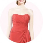 Strapless Bridesmaid Dresses for Sale
