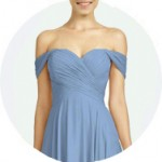 Cap Sleeves Bridesmaid Dresses for Sale