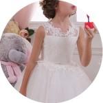 Sleeveless Flower Girl Dresses for Sale