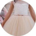 Tulle Flower Girl Dresses for Sale