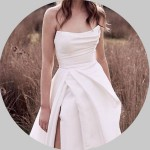 Scoop Wedding Dresses for Sale