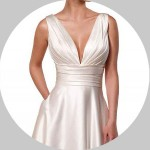 V-Neck Wedding Dresses for Sale